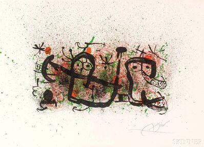 Joan Miró, 'Plate 5', 1970