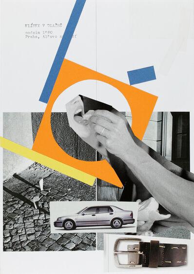 Jiří Kovanda, 'Untitled (wedges)', 2014