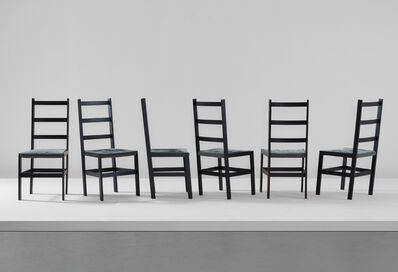 Steven Holl, 'Set of six dining chairs, from Museum Tower, New York', 1986-1987