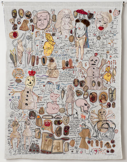 Anna Torma, 'Pedagogical Chart II', 2016