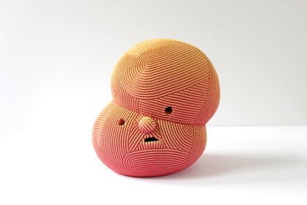 En Iwamura, 'Neo-Jomon: Orange Obake', 2020