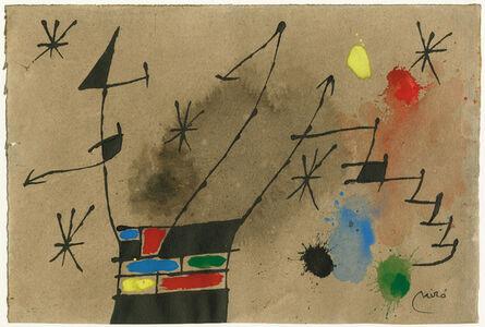 Joan Miró, 'ohne Titel (untitled)', 1965