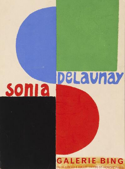 Sonia Delaunay, 'Poster for Sonia Delauney exhibition at Galerie Bing, Paris', 1964