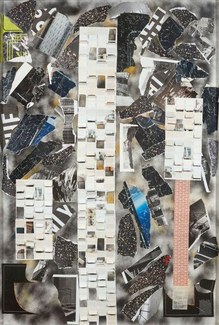Alberto Borea, 'Maps of lima', 2016