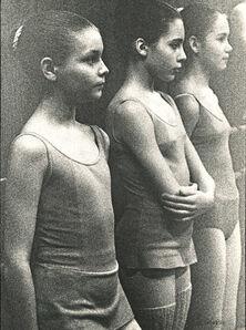 Kim Camba, 'Young Ballerinas', 1973