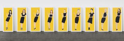 Alex Katz, 'Black Dress', 2015