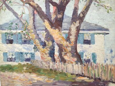 Houghton Cranford Smith, 'House With Blue Shutters', 1909-1915
