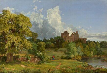 Jasper Francis Cropsey, 'Doune Castle', 1848