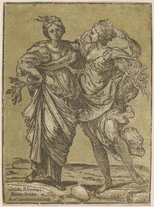 Bartolomeo Coriolano after Guido Reni, 'Alliance of Peace and Abundance', 1627