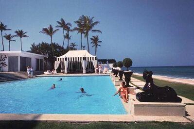 Slim Aarons, 'Molly Wilmot's Pool', 1987