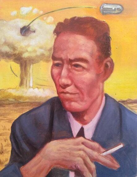 Sam Vaughan, 'Study for Atomic War (Oppenheimer)', 2019