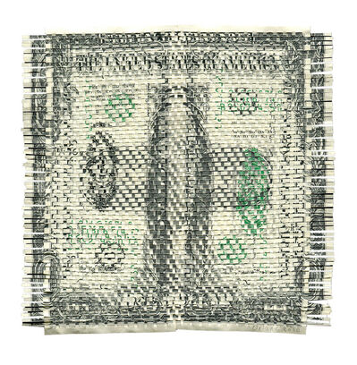 Oriane Stender, 'Untitled Woven Dollar (Front and Back)', 2013