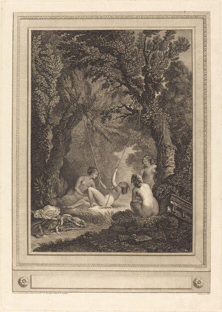 Geraud Vidal after Nicolas Lavreince, 'La balancoire mysterieuse', 1784