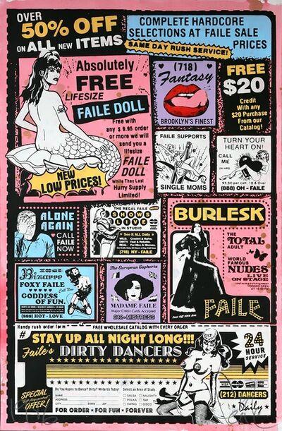 FAILE, 'Sexy Ad (Colour)', 2007
