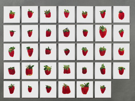 Hans-Peter Feldmann, 'One pound of strawberries, Hans-Peter Feldmann'