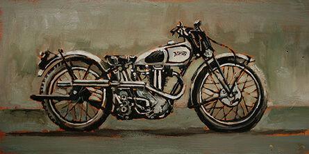 Bradford J. Salamon, '1940s Norton Motorcycle', 2015