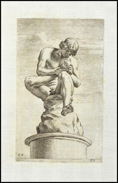 François Perrier, 'Spinam auellens in Capitolio', 1638