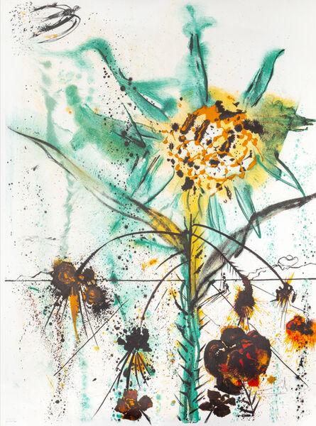 Salvador Dalí, 'Sun Goddess Flower', 1972