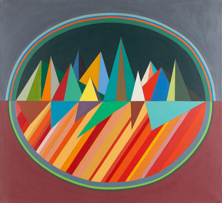Robert S. Neuman, 'Small Mirage Painting', 1966
