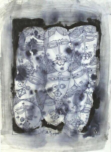 G. Raman, 'Indian Heads', 2006