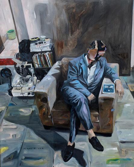 Iqi Qoror, 'In Front of Rest Room', 2018