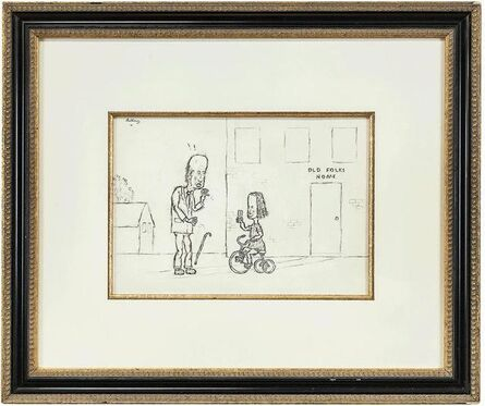 William Anthony, 'Hershey Chocolate Bar at Old Folks Home', 20th Century