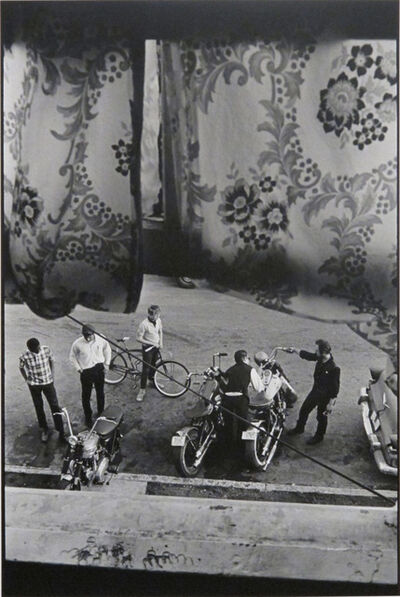 Danny Lyon, 'From Lindsey's room, Louisville, The Bikeriders Portfolio', 1966
