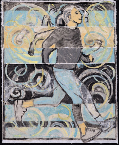 Ronni Komarow, 'I Run, I Become (v. 4)', 2018