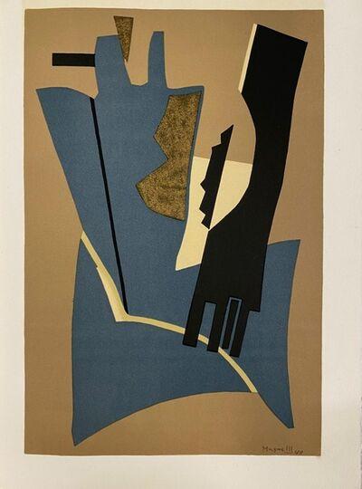 Alberto Magnelli, 'Papier collé 1948', 1975