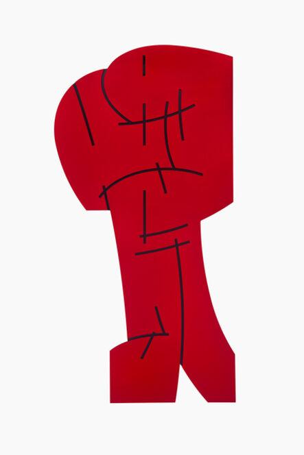 Mel Katz, 'Upright', 2017