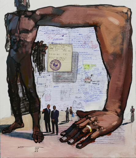 Dawit Abebe, 'Long Hands 11', 2020