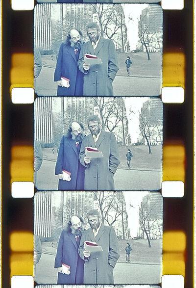 Jonas Mekas, 'Selena Ginsberg and Peter Orlovsky, Central Park, NYC, c. 1990', 2013
