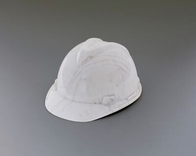 Ai Weiwei, 'Marble Helmet', 2010