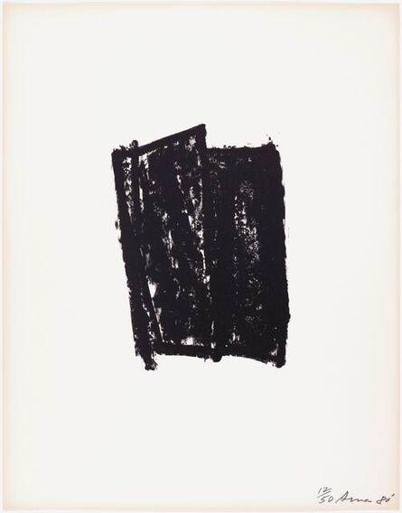 Richard Serra, 'Sketch # 7', 1981