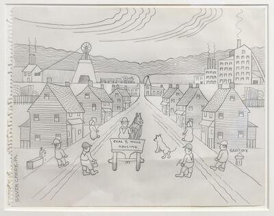 "John ""Jack"" Savitsky, 'Silver Creek, PA', ca. 1970"