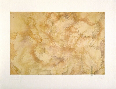 John Cage, 'Where There Is Where There Urban Landscape No. 41', 1978-1989