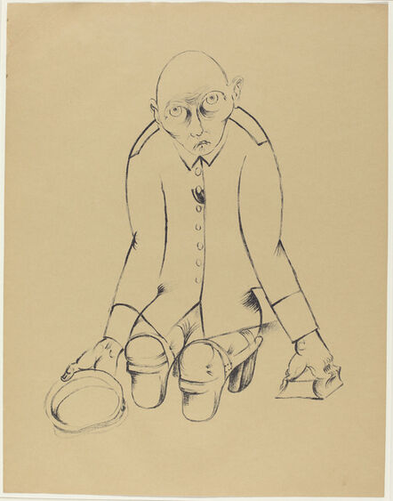 Heinrich Hoerle, 'Der Ernährer (The Bread Winner)', 1920