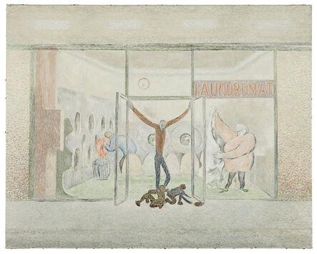 David Byrd, 'Laundromat Sketch', 2013
