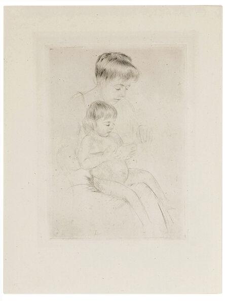 Mary Cassatt, 'The Manicure', circa 1908