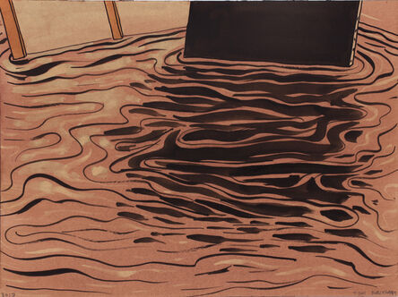 Tom Burckhardt, 'Black Monochrome (Reflection)', 2017