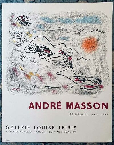 André Masson, 'Untitled', 1962