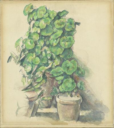 Paul Cézanne, 'Geraniums', 1888/1890