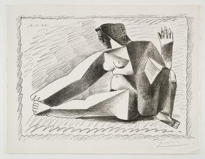 Pablo Picasso, 'Femme accroupie aux Bras levés', 1956