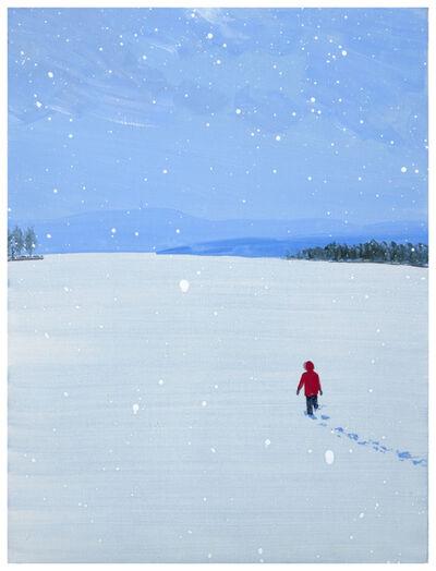 Sebastian Blanck, 'Snow Lake', 2020