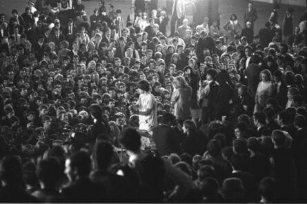 John 'Hoppy' Hopkins, 'Jagger in Crowd, around 4am, 'All-Nighter', Alexandra Palace, London', 1964
