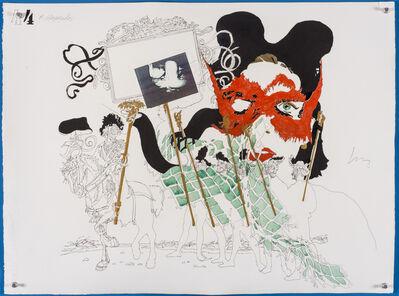Wesley Duke Lee, 'Os mascarados - 44 ', 1966