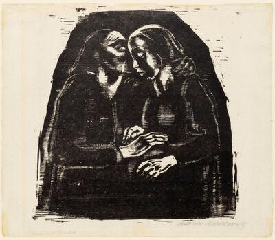Käthe Kollwitz, 'Maria und Elisabeth', 1928