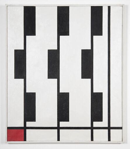 Nikolai Kasak, 'Rhythm on Vertical Axes, black', 1947