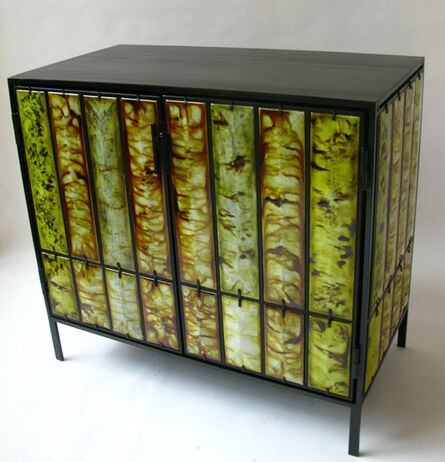 Christophe Côme, 'Yellow Lava Cabinet', 2012