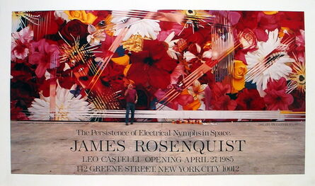 James Rosenquist, 'The Persistence of Electrical Nymphs in Space', 1985